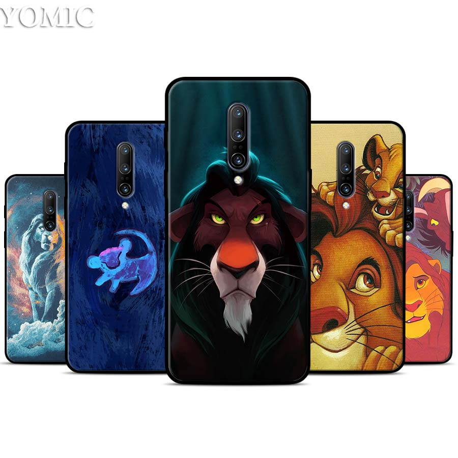 The Lion King Silicone Case for font b Oneplus b font font b 7 b font