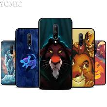 The Lion King Silicone Case for Oneplus 7 7Pro 5T 6 6T Black Soft Case for Oneplus 7 7 Pro TPU Phone Cover
