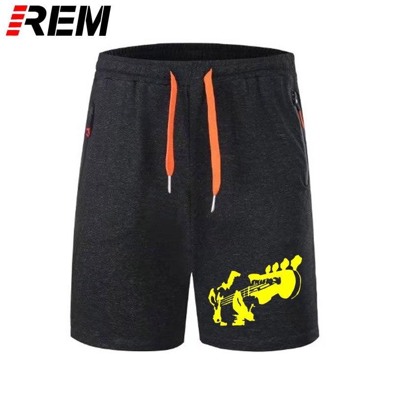 REM Short Pants Mens BASS GUITAR BASS PLAYER HAND BASS MUSIC Short Pants Cotton Novelty Panties Short Pants