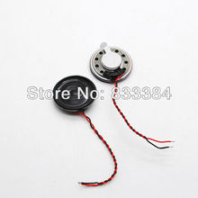 Haut-parleur à coque ronde en métal, Type magnétique, 1W, 8 Ohm, 8R, 2 pièces