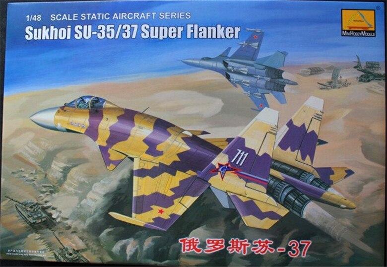 1:48 modèle d'avion de chasse lourd soviétique russe 37