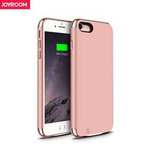 Joyroom External Battery Charger Case For iPhone 7 2300mAh Portable Power Bank Pack Backup Battery Case Cover for iphone 7