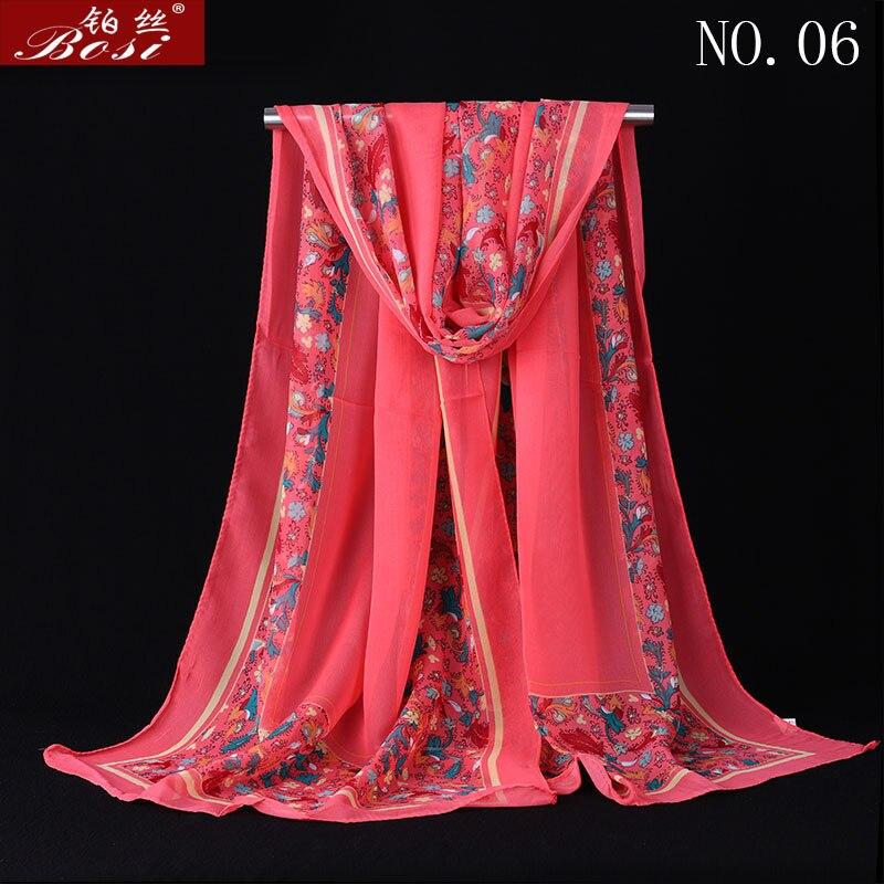 Chiffon Scarf Print Women Hijab Luxury Stoles Scarves Wraps Fashion Wrap Shawls Floral Shawls Cape Female Muslim Wrap Wholesale