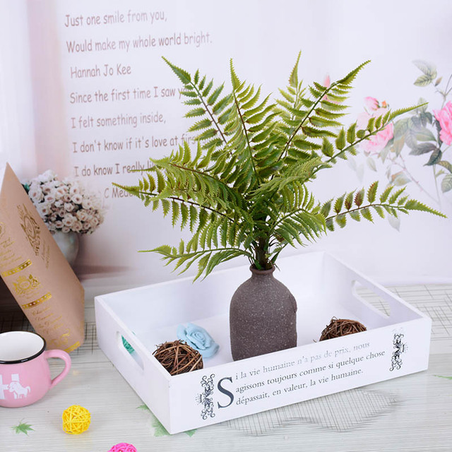 green artificial fern plants fake fern leaves artificial plants for