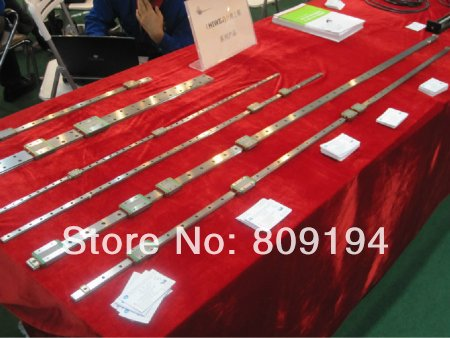 1200mm HIWIN EGR15 linear guide rail from taiwan free shipping to argentina 2 pcs hgr25 3000mm and hgw25c 4pcs hiwin from taiwan linear guide rail