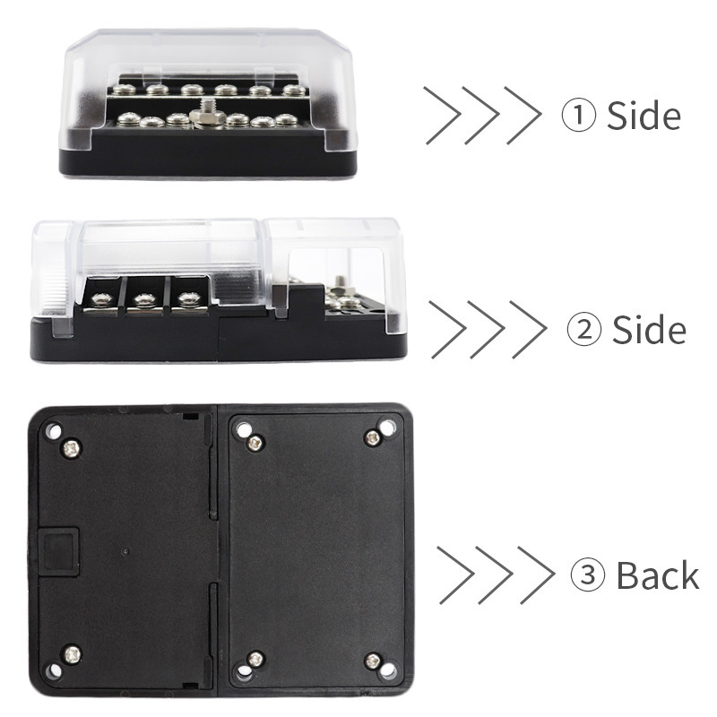 Image 4 - 12 Bit Negative Common Box Modular Design Blade Fuse Block LED indicator For Car RV Boat Fuse Box With Lamp-in RV Parts & Accessories from Automobiles & Motorcycles