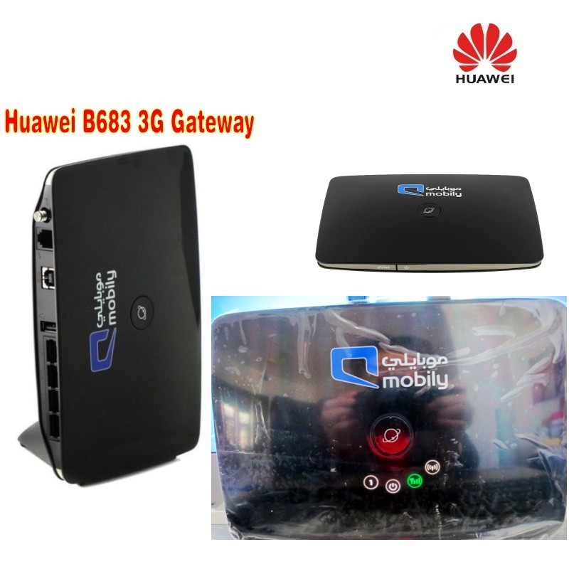 Unlock Huawei B683 3G wireless router WPS USB HSPA+ Wireless WLAN Router