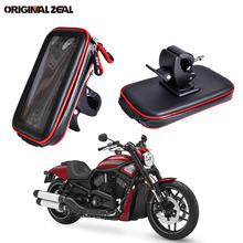 2018 Water Resistant Bag Motorcycle Phone Holder Stand Clip