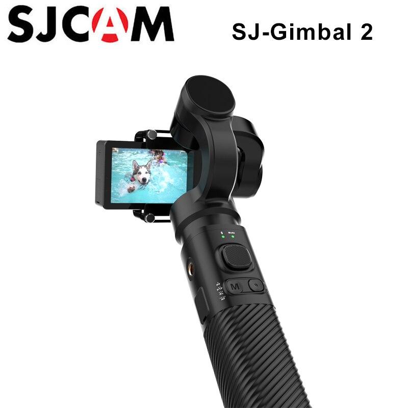 SJCAM cardan de poche 2 3 axes stabilisateur Bluetooth contrôle sj-cardan 2 pour SJ6 SJ7 SJ8 Pro/Plus/caméra d'action à Air