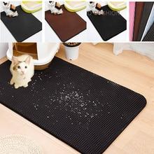 Премиум лап животных наполнитель для кошачьего туалета коврик для мусора захвата коврик для пчелиных сот двойной Слои Водонепроницаемый мочи-ушанка; коврик для Лотки