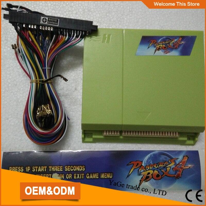 New products 645 in 1 multi arcade game board+28 pin JAMMA Wire harness