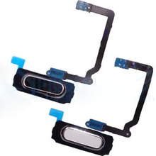 Original Fingerprint Sensor Home Return Key Menu Button Flex Cable For Samsung Galaxy S5 I9600 G900 G900F G900A G900H
