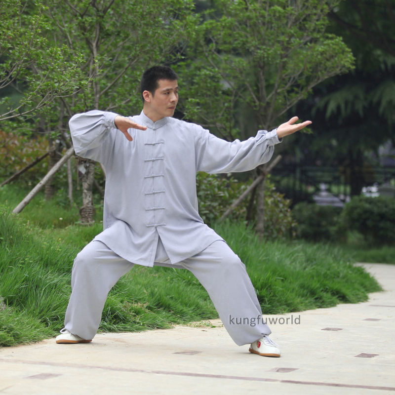 High Quality Tai Chi Uniform Chinese Kung Fu Training Clothes Wushu Martial Arts Wing Chun Suit