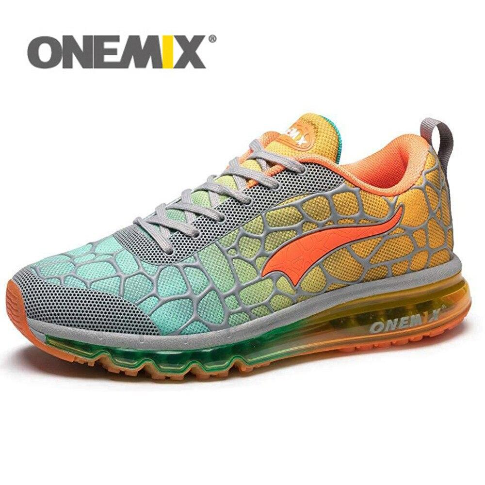 ONEMIX Air подушки кроссовки мужские 270 Zapatos De Hombre Спортивная обувь Открытый для женщин Max 12,5