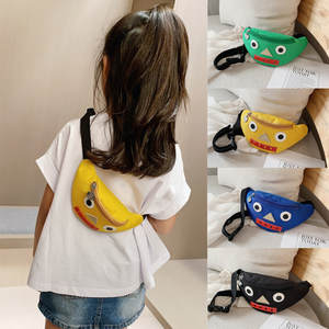 Crossbody-Bags Fanny-Pack Waist Bagfashion Girls Child Cute Candy-Color Boys