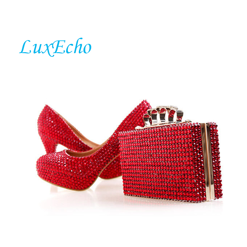 Neue ankunft Luxus kristall braut schuhe ankle strap party
