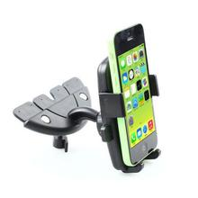 Car Mobile Phone Holder 360 Degree Adjust Rotatable CD Slot Mount Bracket for iPhone Samsung R30