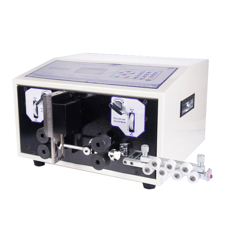 SWT508E Automatic strip wire machine skinning cutting wire computer strip Wire stripping machine 0.1 to 8mm caiman swt 50ex