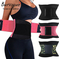 Burvogue Hot Shapers Women Body Shaper Slimming Shaper Belt Girdles Firm Control Waist Trainer Cincher Plus size S-3XL Shapewear