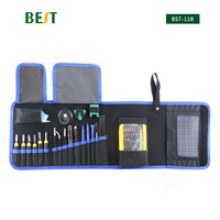 67 in 1 BST 118 Multi purpose Toolkit Mobile Smart Phone Repair Tool Kit For Iphone Watch Tablet PC Hand Tools Set