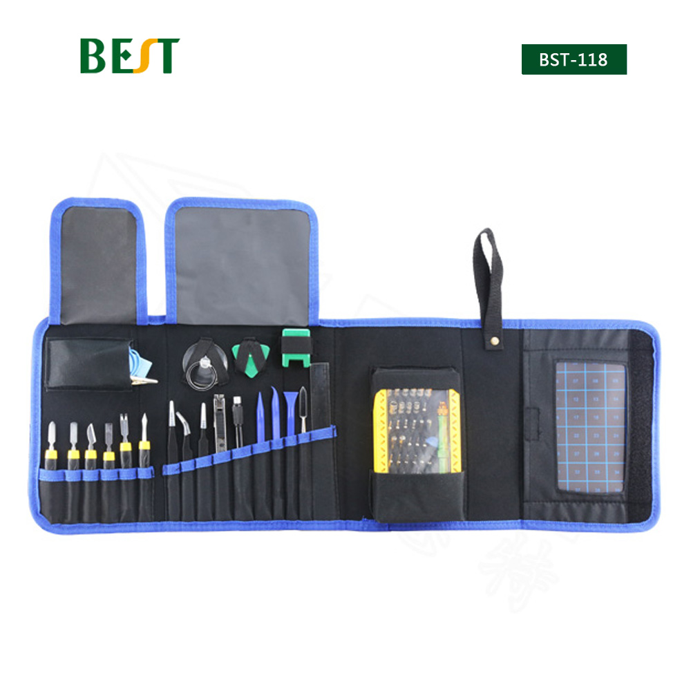 67 in 1 BST-118 Multi-zweck Toolkit Mobile Smart Telefon Reparatur Tool Kit Für Iphone Uhr Tablet PC Hand werkzeuge Set