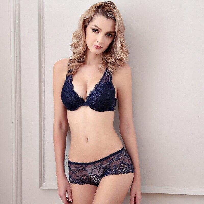 Luxury Sexy Bra Set Lingerie Lace Sexy Underwear Pack Abdominal Curl Cheeky Panty Bra Sujetador Sutia Soutien Gorge Brassiere