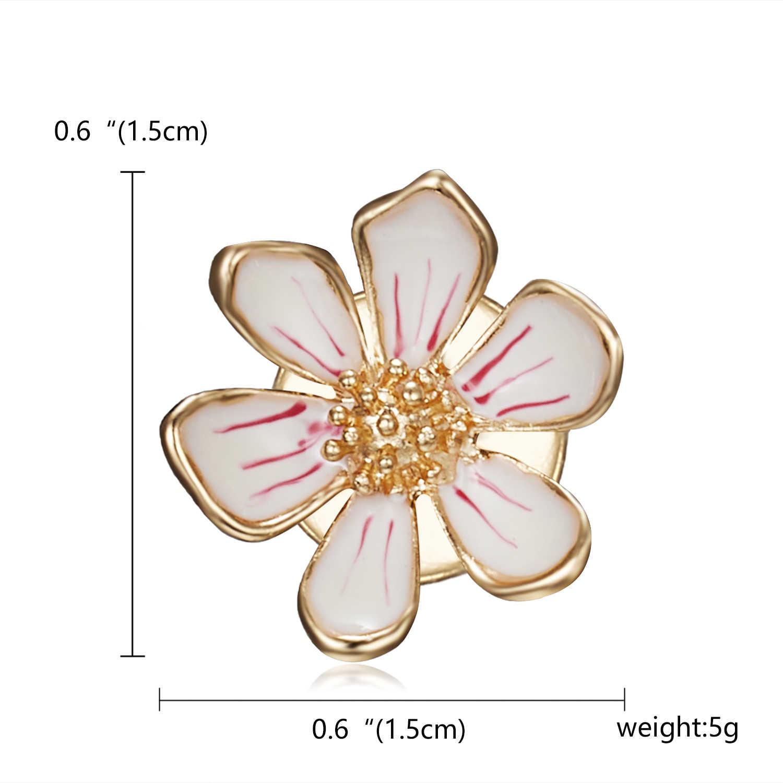 Rinhoo Elegan Bunga Tulip Bros Pin Crystal Kostum Pakaian Perhiasan Aksesoris Perhiasan Bros untuk Pernikahan Z014 Bros
