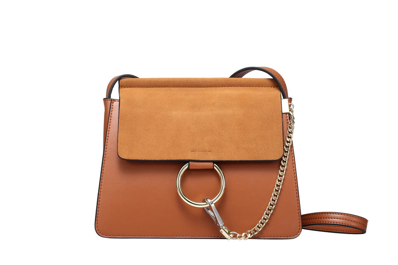 Nesitu Grey Black Blue Brown Split Leather Small Women Messenger Bags With Chain Girls Shoulder Bags #M0750 2017 fashion all match retro split leather women bag top grade small shoulder bags multilayer mini chain women messenger bags