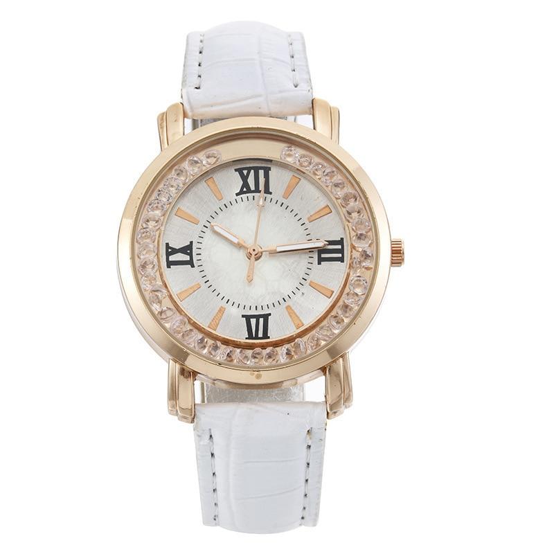Hot Style Fashion Personality Quicksand Belt Watch Ladies Students Joker Quartz Watch