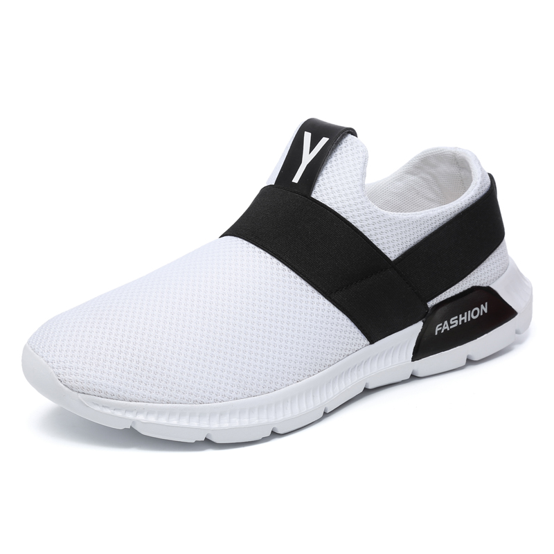 2018 Hot Sale Ultra-light weight Breathable Mesh Shoes Men Sneakers Breathable Outdoor Running Shoes Walking Shoes Men Sneakers