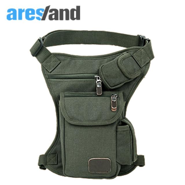 Aresland 2016 coxa perna queda cintura utilitário saco bolsa nova moda pacote de cintura militar