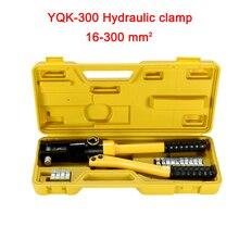 По DHL 1 шт. 16-300 мм Диапазон обжима гидравлический обжимной инструмент 12 т давления YQK-300