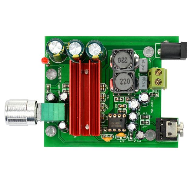 Aiyima TPA3116 100W Subwoofer Digital Power Amplifier Board TPA3116D2 Amplifiers NE5532 OPAMP 8-25V