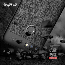 WolfRule Asus Zenfone Max Plus ZB570TL Case Shockproof Luxury Leather TPU Case For Asus ZenFone Max Plus M1 ZB570TL Funda X018D]