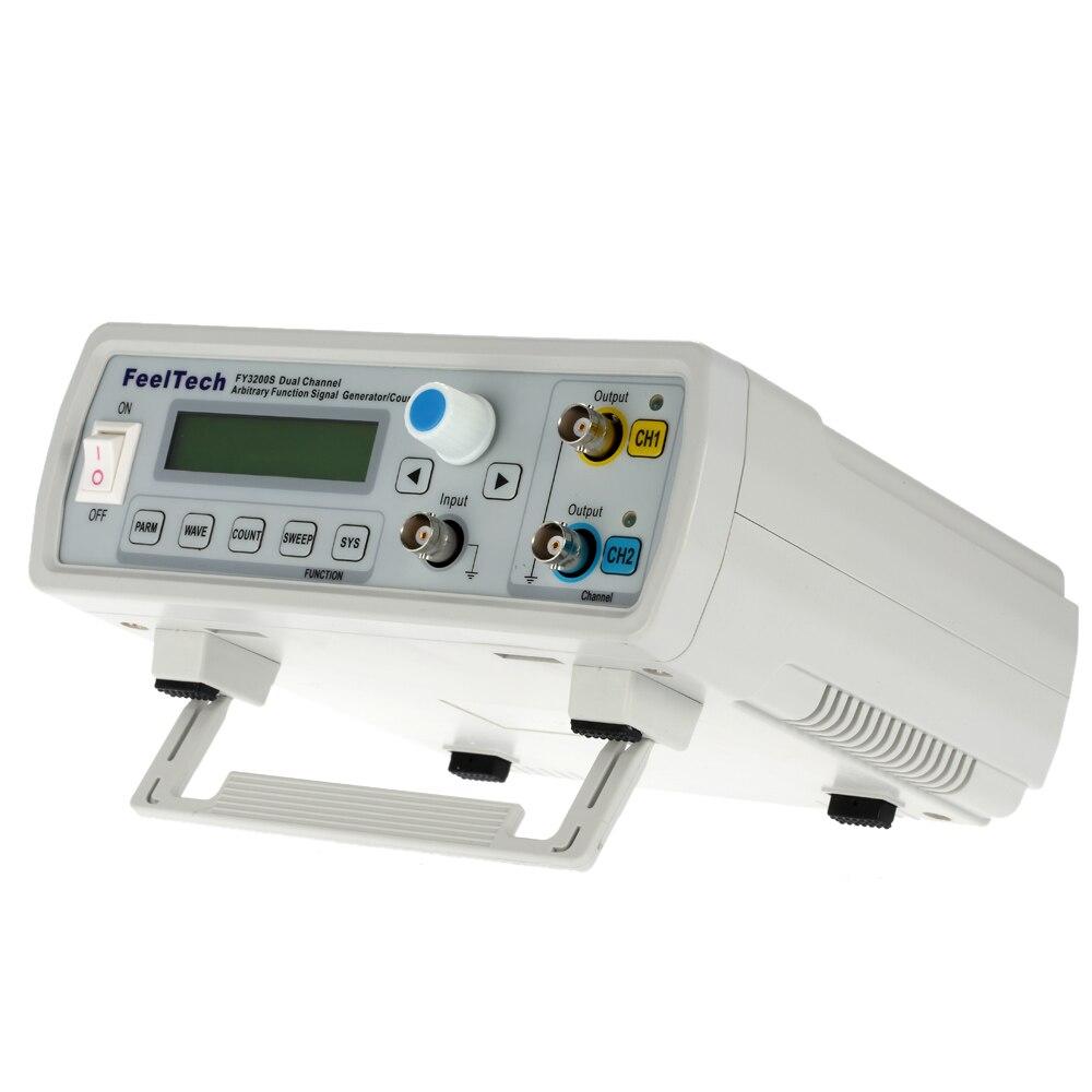 Цифровой DDS двухканальный функция источник сигнала Генератор произвольной формы/импульсный частотомер 12 бит синусоида 20 мГц