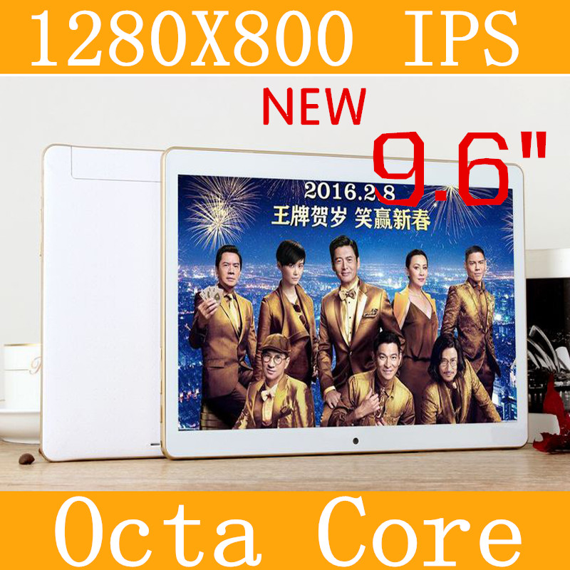 9 6 Tablet PC 3g tablet Octa Core 1280 800 ips 5 0mp 4g 128gb keyboard