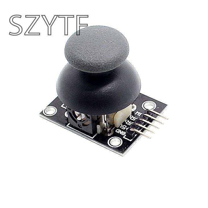 Dual-axis XY Joystick Module PS2 Joystick Control Lever Sensor For Arduino KY-023