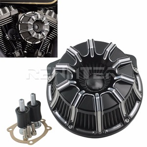 Image 5 - Air Cleaner Filter CNC Crafts Inverted Big Sucker For Harley Sportster 883 1200 Softail Dyna Touring Road King