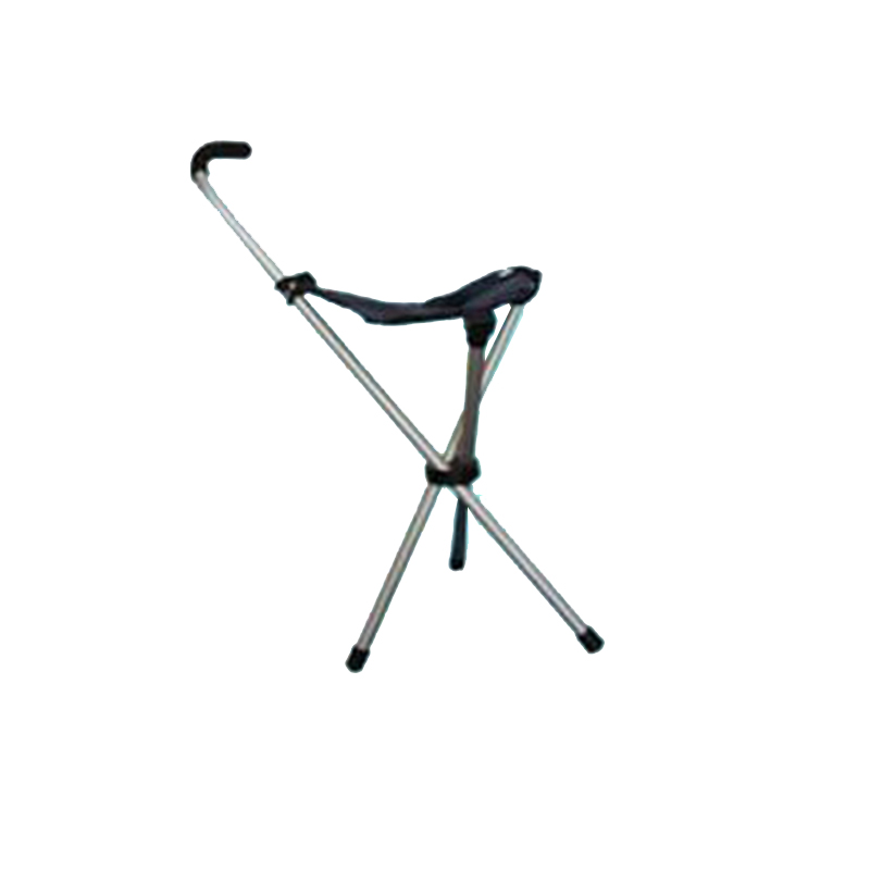 One crutch crutch stool three feet bring multi-functional telescopic folding cane seat the old man to help line