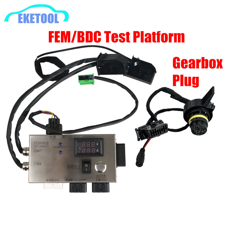 For BMW FEM/BDC Test Platform For BMW F20 F30 F35 X5 X6 I3 FEM BDC Control Module With Gearbox Plug Directly Work FEM BDC TesterFor BMW FEM/BDC Test Platform For BMW F20 F30 F35 X5 X6 I3 FEM BDC Control Module With Gearbox Plug Directly Work FEM BDC Tester