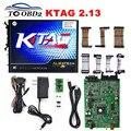 Лучшее Качество + KTAG 2.13 Аппаратных V6.070 Без Лексем Ограничено Работы на Нескольких Автомобилей/Грузовиков K ТЕГ 2.13 Чип ECU Интерфейс К-TAG Мастер