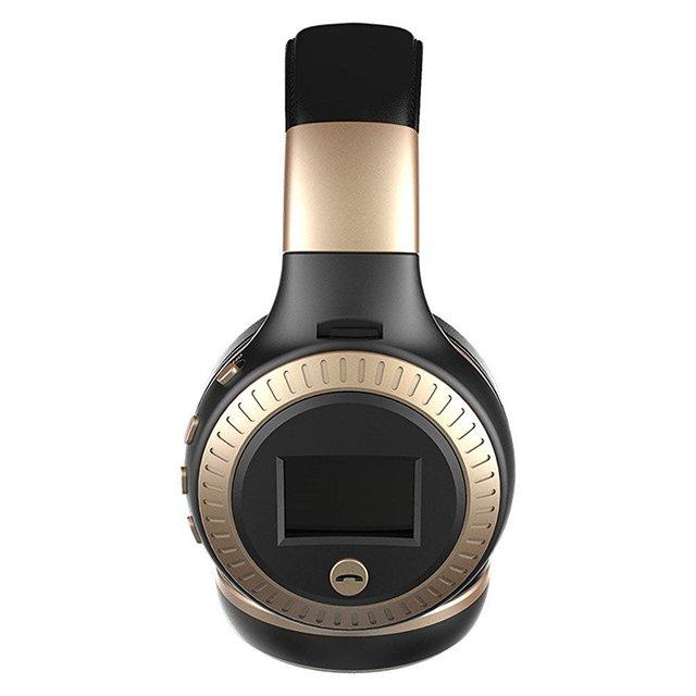 Bluetooth Fone De Ouvido Sem Fio Fone de Ouvido fone de Ouvido LED Screen Display com Microfone FM Tf para Computador PC Smartphones