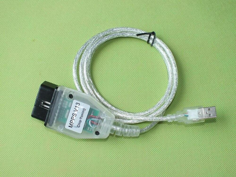 Высокая репутация 5 шт. SMPS MPPS V13.02 V13 K МОЖЕТ Flasher чип-тюнинг ЭКЮ программист REMAP OBD2 OBDII диагностический USB интерфейс