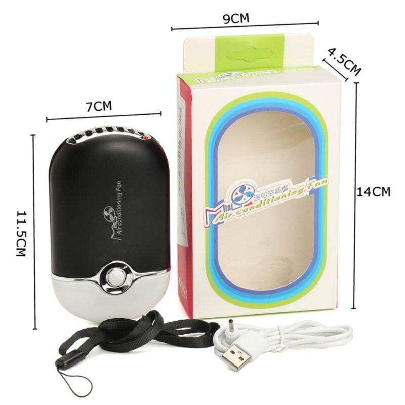 Ventilador de ar Condicionado Ventilador Cílios Enxertadas Extensão