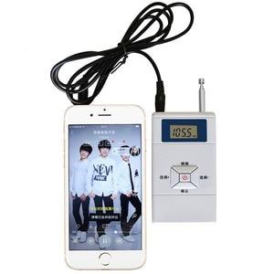 Image 5 - JINSERTA Mini FM Transmitter Persönlichen Radio Station Stereo Audio Converter 70MHz 108MHz für Tragbare Empfänger