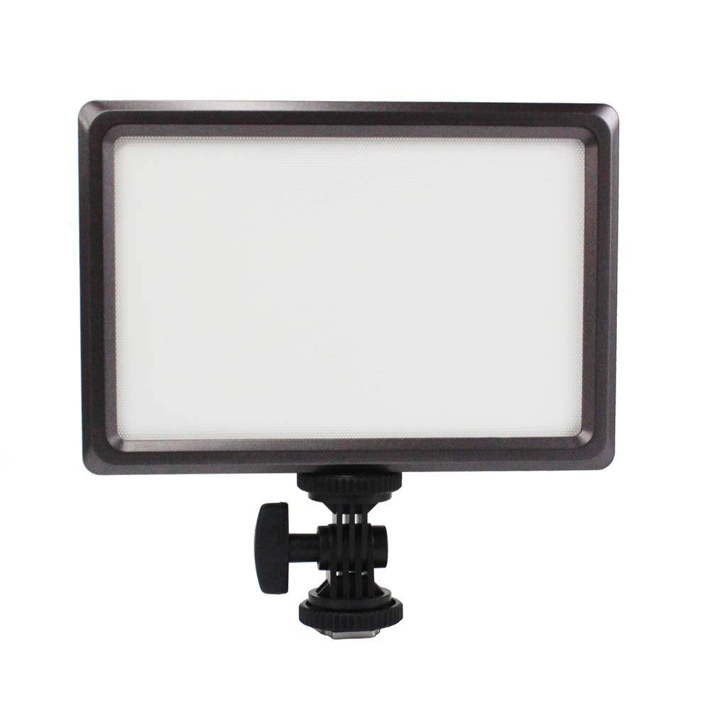 울트라 씬 Luxpad22 DSLR 카메라 비디오 캐논 니콘 카메라 캠코더 용 LED 라이트 바이 컬러 3200K / 5600K 사진 패널 조명