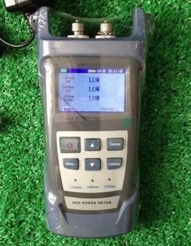 Chegada de novo! RY-P100 Ruiyan Digital Portátil 1310/1490/1550 m FTTH Medidor de Potência Óptica PON para EPON GPON ONT xPON OLT