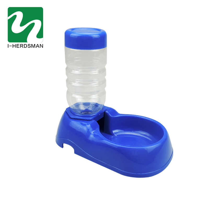 Pet Cat Dog Automatic Water Dispenser Food Dish Feeder Bowl Beber Tigela Garrafa Para Cães Pet Fornecimentos de Alimentação