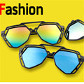 7 Cores Moda Feminina Irregular Poligonal Oco Óculos De Sol Da Marca Desinger Luxo Óculos de Sol Para Mulheres Dos Homens