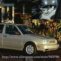 Free Shipping 12pcs/lot White 12 volt Interior Car LED Lights For Volkswagen Golf Mk3 1993-1998